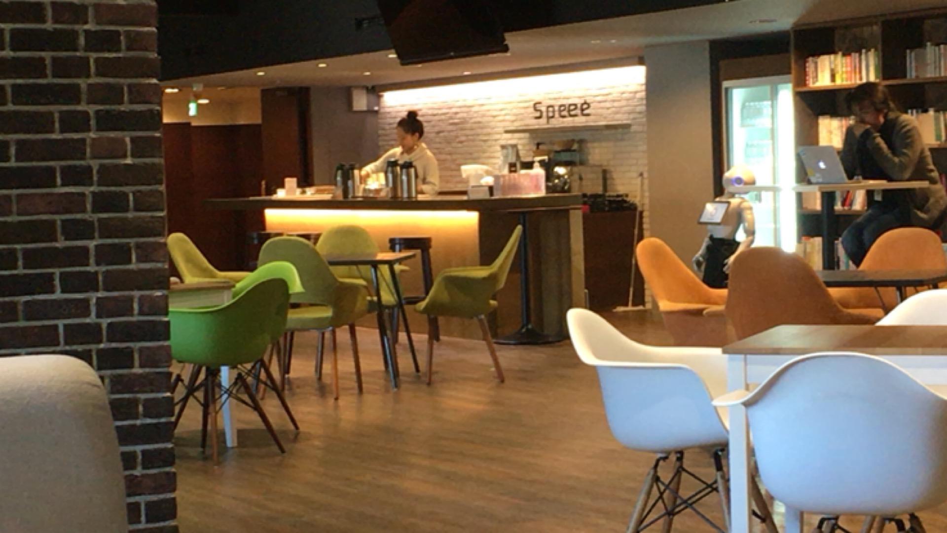 speeeのカフェスペース